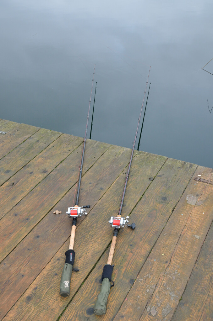 Rods on the floor, no banksticks needed with floats_01